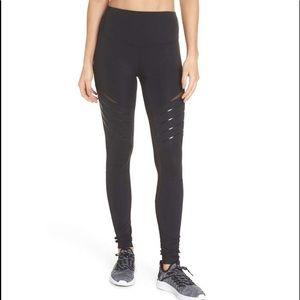 Zella High Waist Street Style Black Leggings XS